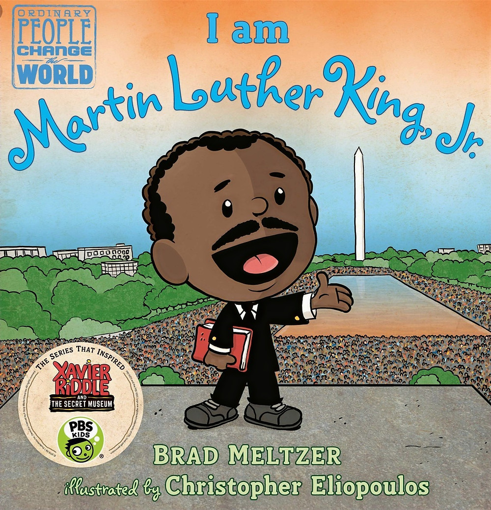 book-cover-with-illustration-of-Dr.-Martin-Luther-King-Jr.-on-cover