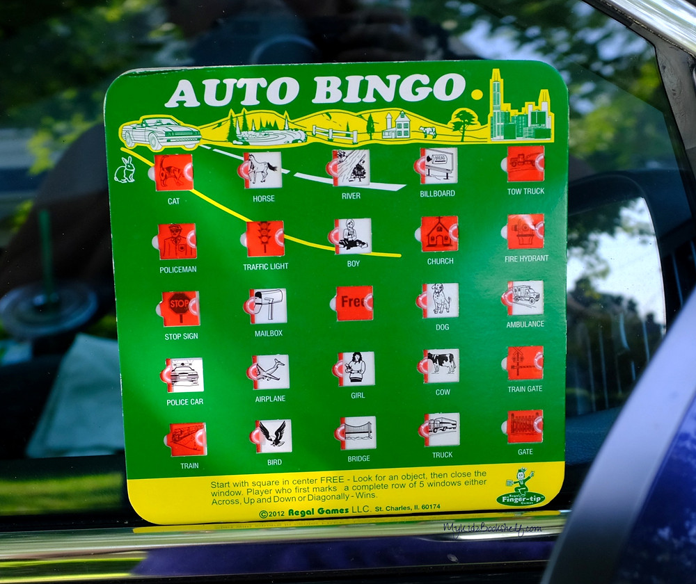 Auto bingo - old fashioned car game
