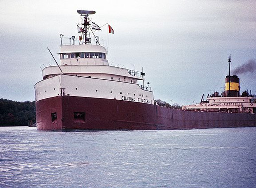 Memories, Great Teachers and The  Edmund Fitzgerald