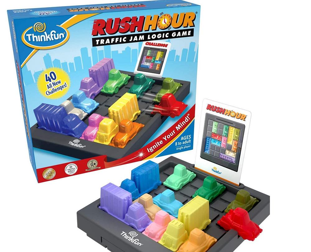 Thankful Rush Hour Traffic Jam Logic Game