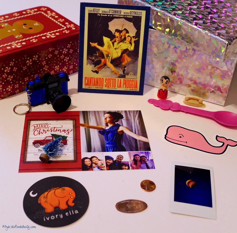 Time Capsule boxes with fun New Years tokens memorabilia