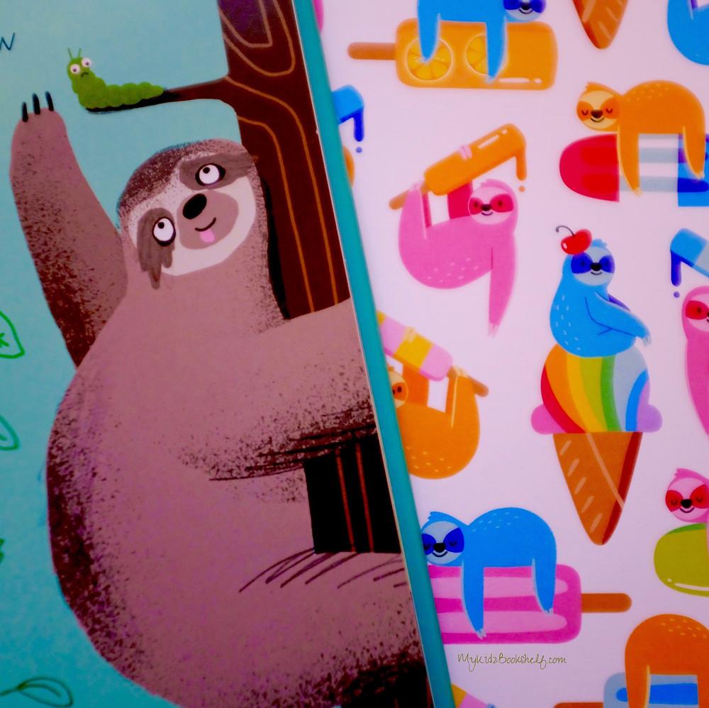 sloth-illustrations