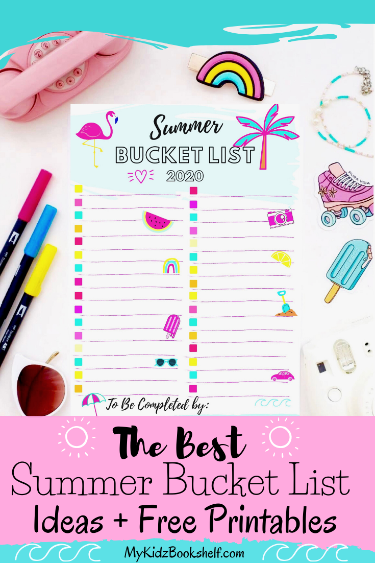 The Best Summer Bucket List Ideas and Free Printables
