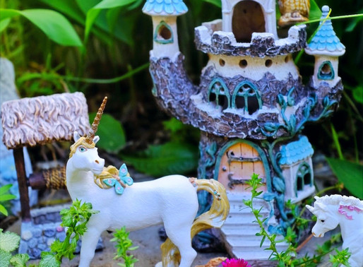 Fairy Garden Fun! Make Your Own Fairy Garden + DIY a Mini Fairy Home! Book Ideas Included!
