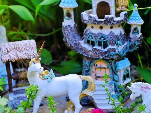 Fairy Garden Fun! Make Your Own Fairy Garden + DIY a Mini Fairy Home! Book Ideas Included!