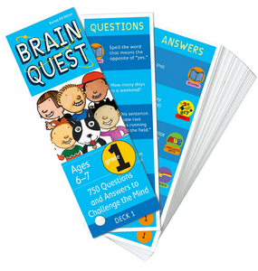 Brain Quest card deck for ages 6-7 or Grade 1