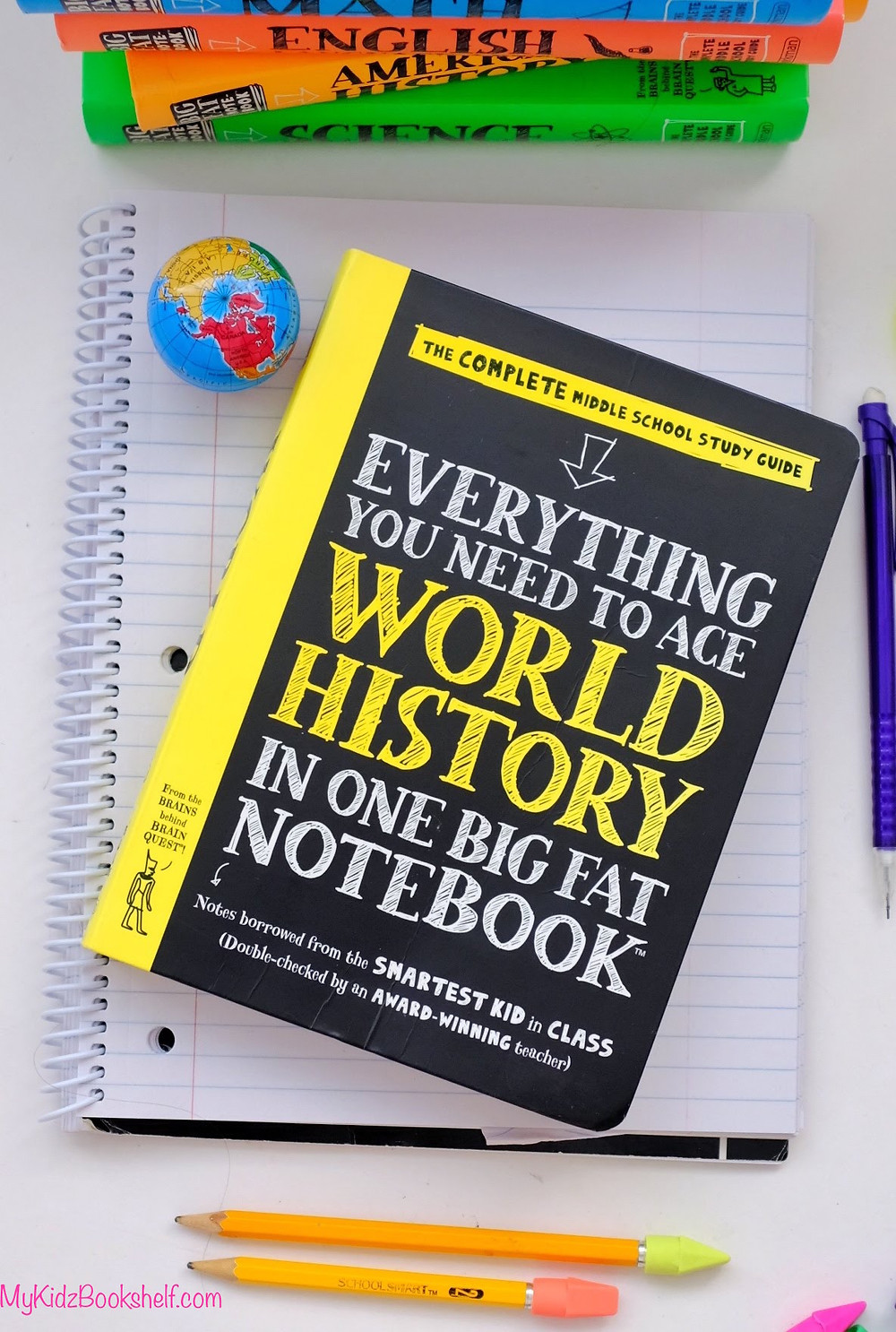 Brain Quest  Everything you need to Ace World History in one Big Fat Notebook