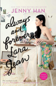 Book cover Always and Forever Lara Jean by Jenny Han