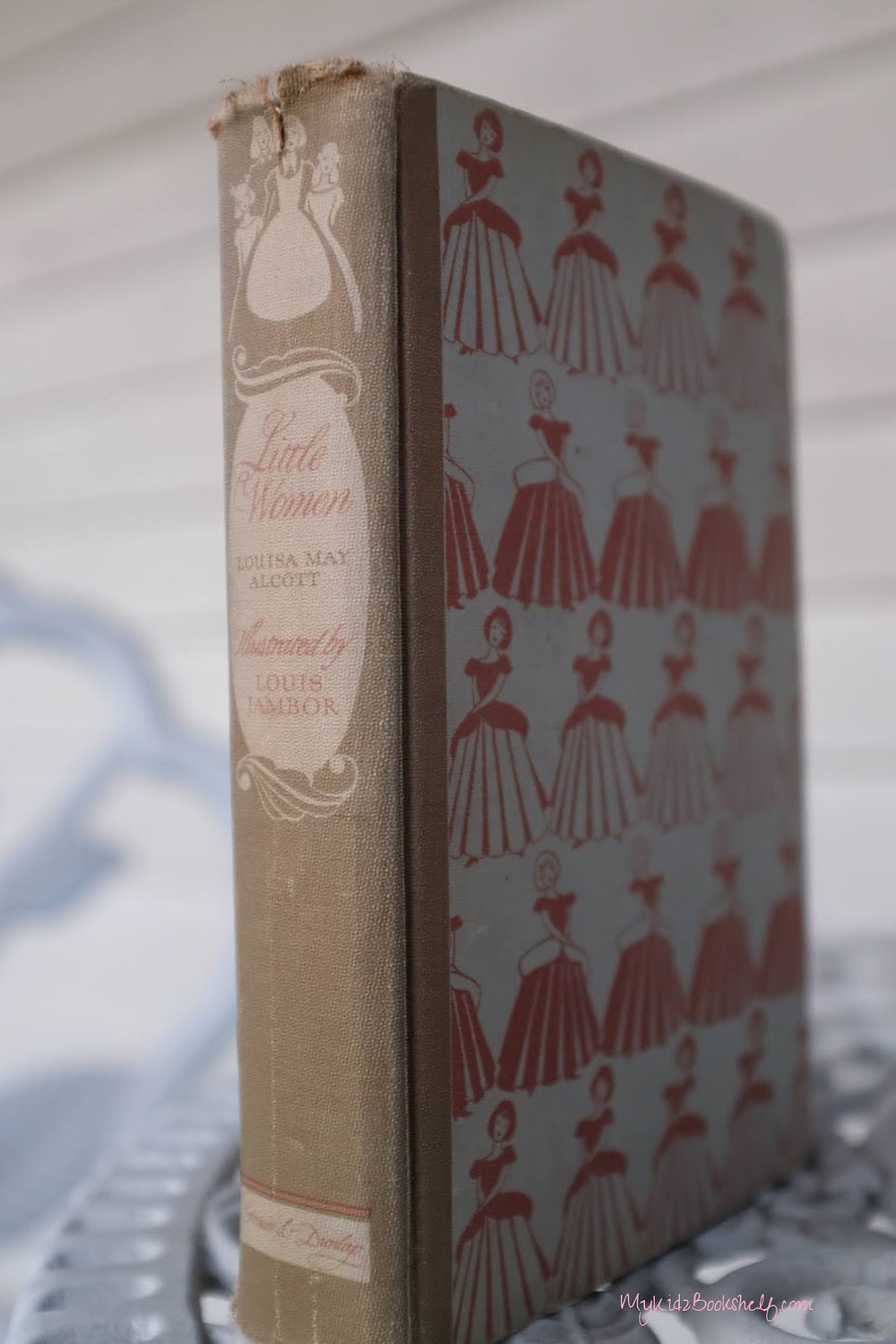 Old edition of Little Women by Louisa May Alcott