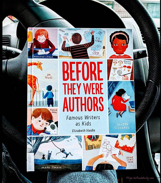 Before-They-Were-Authors-book-by-Elizabeth-Haidle-Top-Ten-Tips-For-Reading-Sucess