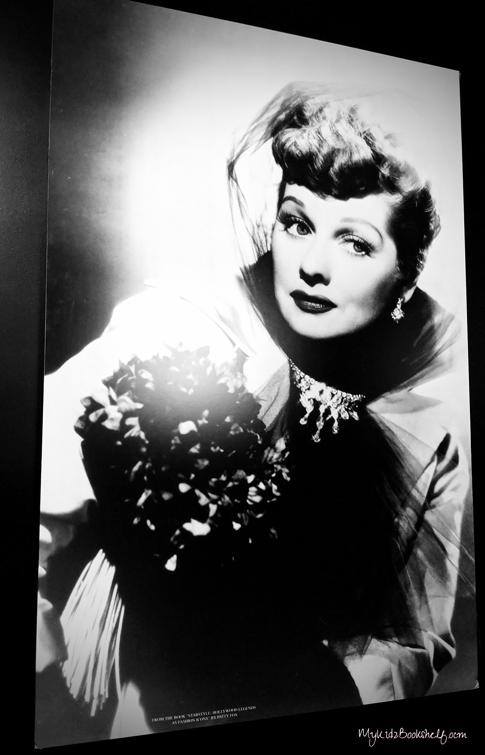 A gorgeous mural-sized photo in the Lucille Ball Desi Arnaz Museum!