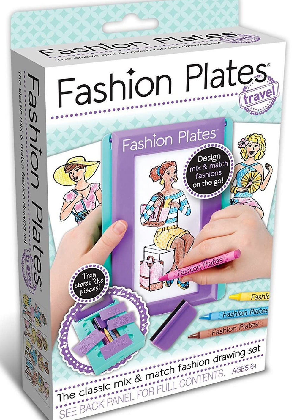 Fashion Plates Design mix and match fashions on the go