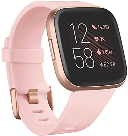 Fit Bit Versa 2 pink Best Gifts for Graduates