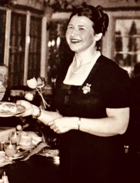 Ruth Wakefield inventor of the chocolate chip cookie recipe aka Toll House Cookie