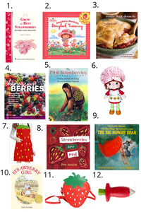 Books and Gifts about strawberries
