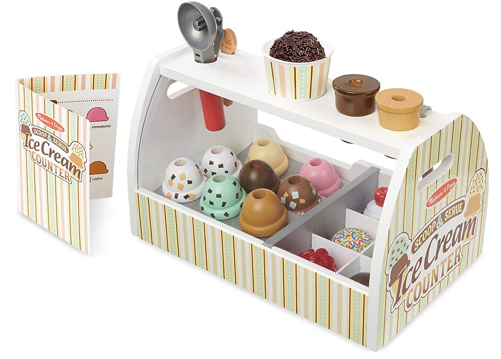 Melissa and Doug Ice Cream Counter set
