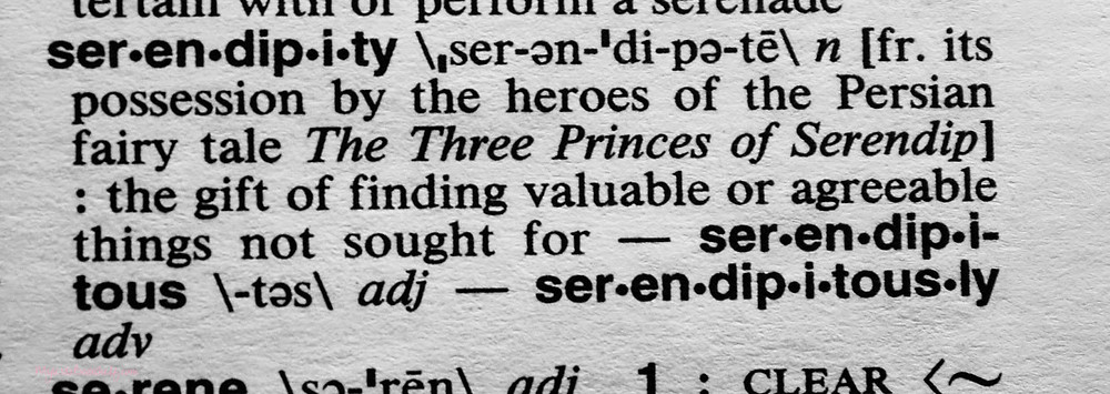 dictionary-definition-of-the-meaning-for-the-word-serendipity