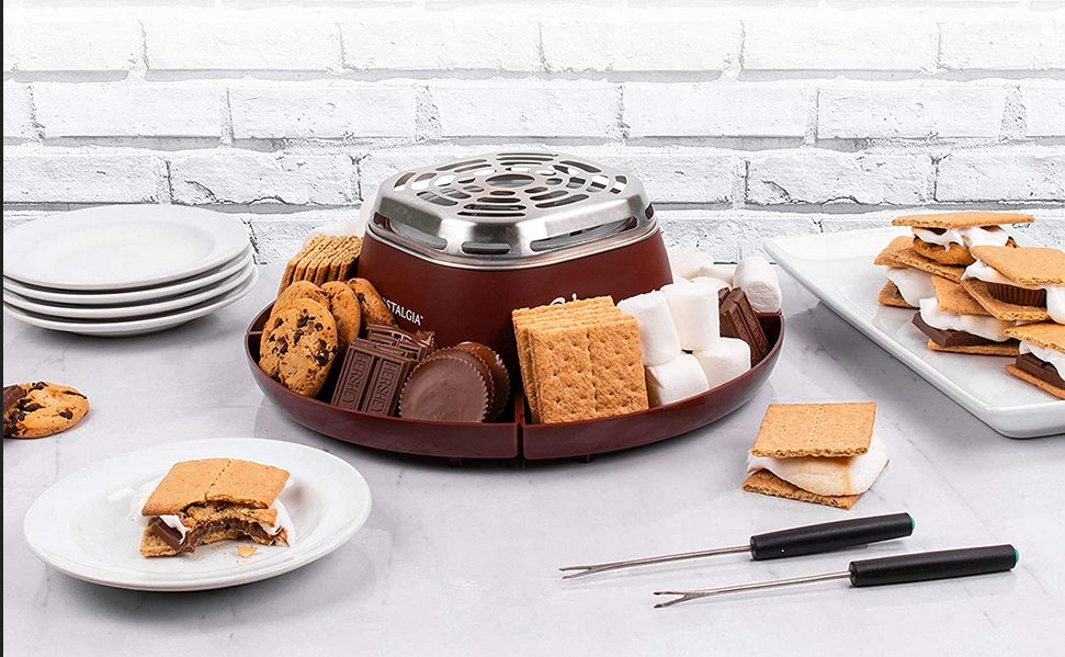 S'mores maker for indoor s'mores