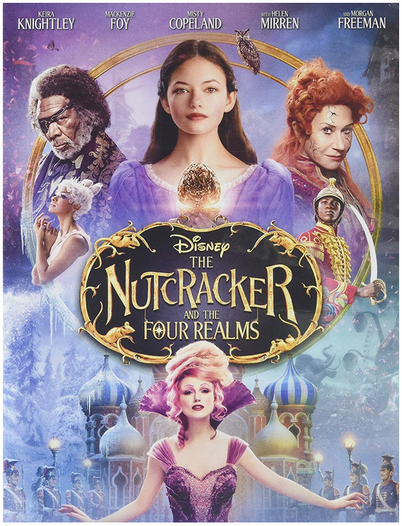 Disney The Nutcracker and Four Realms dvd cover