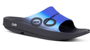 Mens Oofos sport slide sandal Great Gifts for Grads