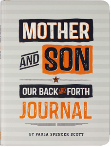Mother and Son Journal cover with big block text of title