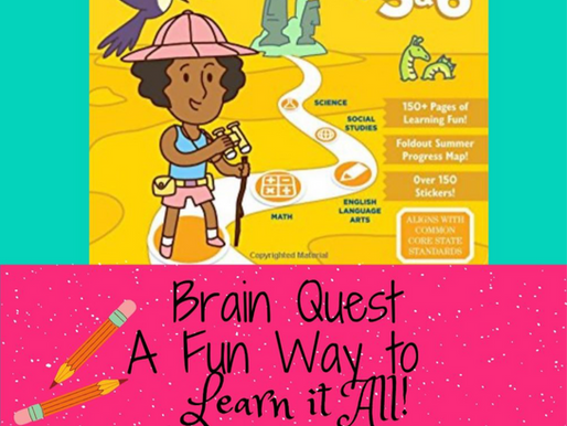 Brain Quest - A Fun Way for Kids to Learn Everything They Need to Know & Not Fall Behind!