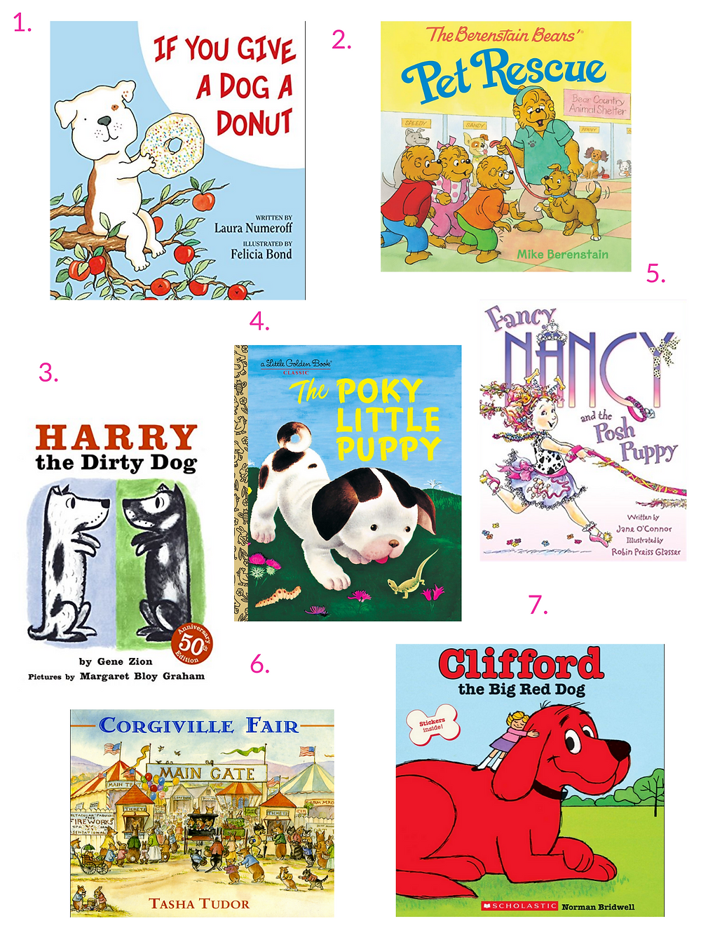 Picture-books-featuring dogs