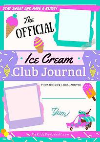 IceCreamJournalPrintableMyKidzBookshelf.