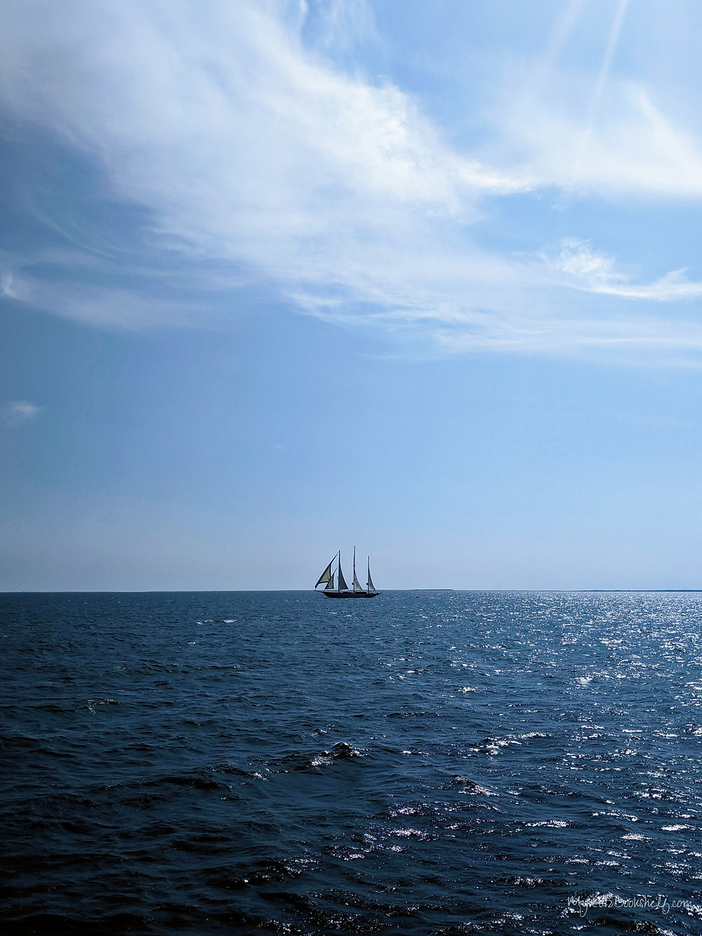 The-view-on-the-ferry-to-Nantucket-sailboat-on-ocean