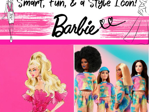 Smart, Fun and a Style Icon -Happy Birthday to Barbie!