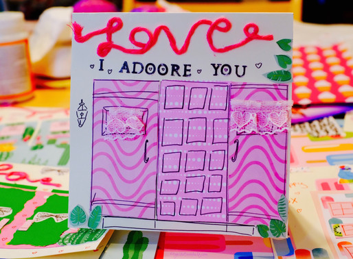 DIY Valentine's Day Cards - I A-door-e You!