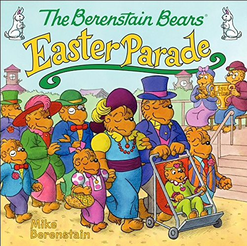 The Berenstain Bears Easter Parade book has the Bear family and friends and neighbors parading in the colorul Easter finery!