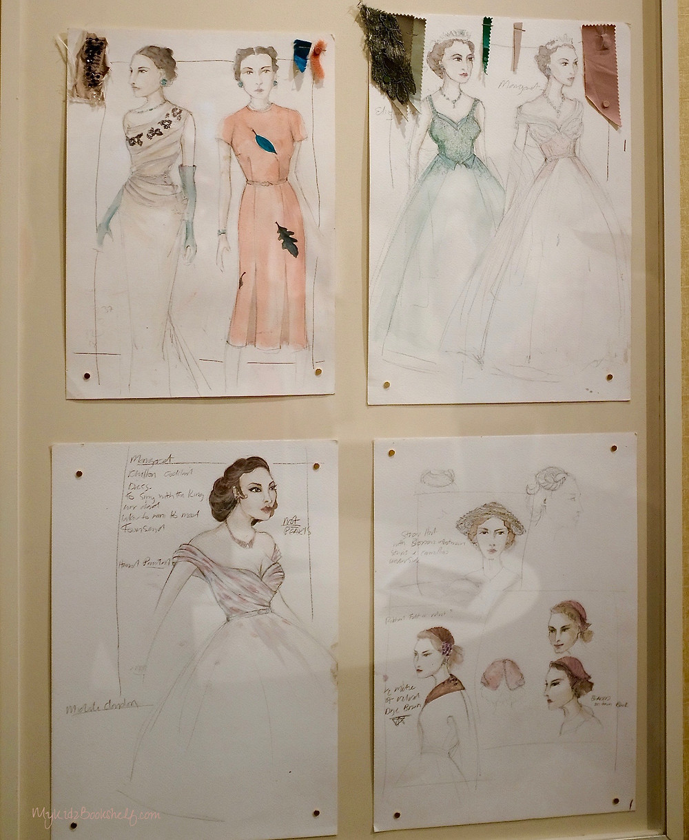 pictPicture-of-sketches-of-costumes-for-Netflix-original-series-The-Crown
