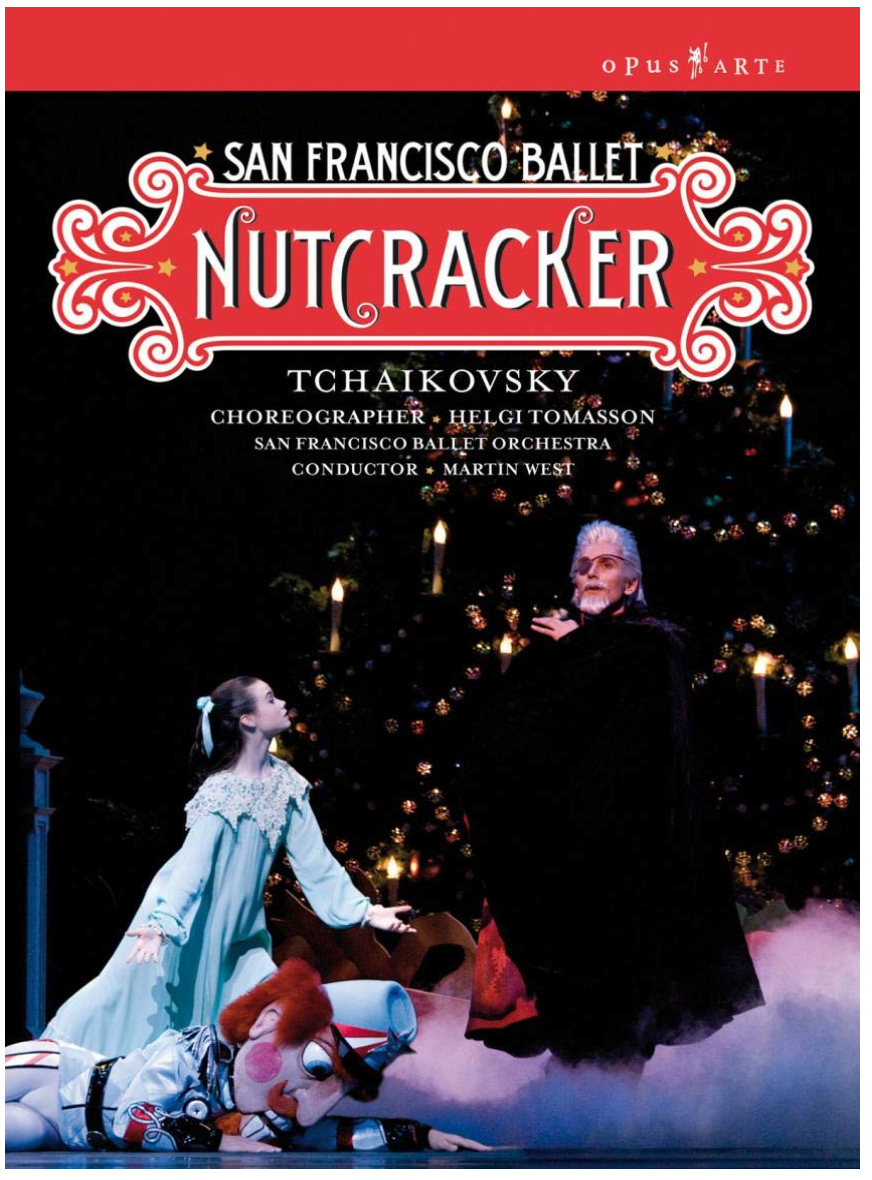 San Francisco Ballet Nutcracker dvd