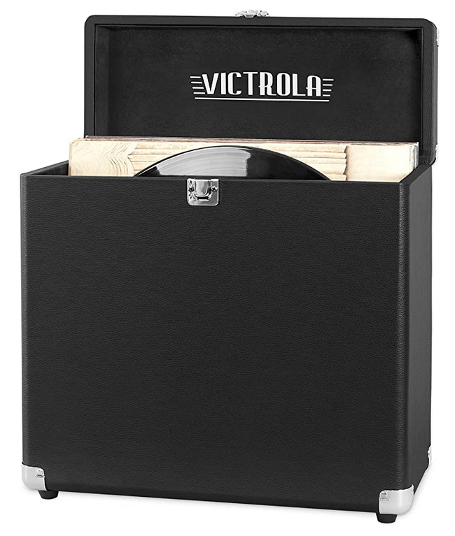 Graduation Gifts Victrola Record storage carry suitcase