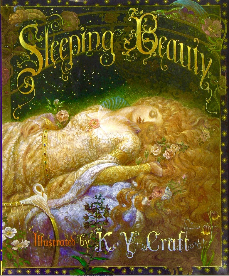 Sleeping-Beauty-illustrated-by-K-Y-Craft-book-fairy-tale-Maleficent