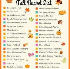 The Best Fall Bucket List Printable