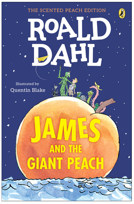Books with Boys as Main Characters Roald Dahl James and the Giant Peach