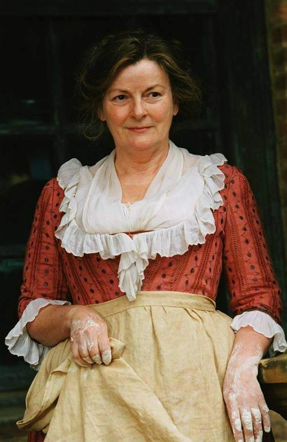 Mrs. Bennett from Pride and Prejudice by Jane Austen