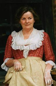 Mrs. Bennett from Pride and Prejudice by Jane Austen
