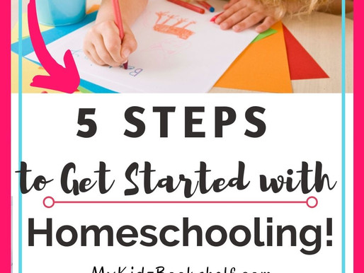5 Steps to an Easy Homeschool Start-Up + A  Sample Letter of Intent!