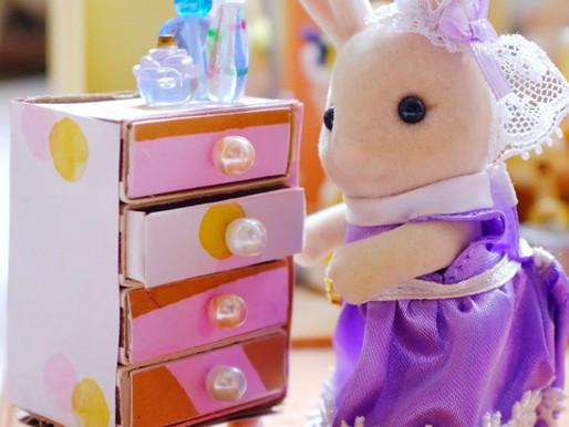 DIY: Make a Mini Matchbox Dollhouse Dresser!