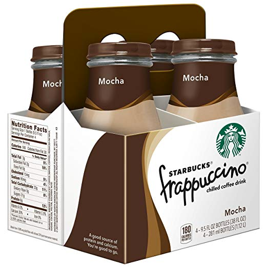 Starbucks frrappuccino six pack