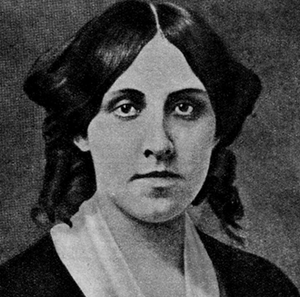 black-and-white-photograph-of-Louisa-May-Alcott-headshot-author-of-Little-Women