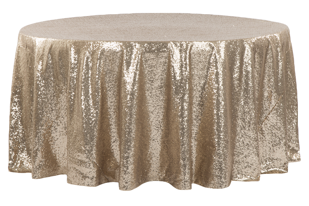 Glitz-RoundTablecloth_-_Champagne