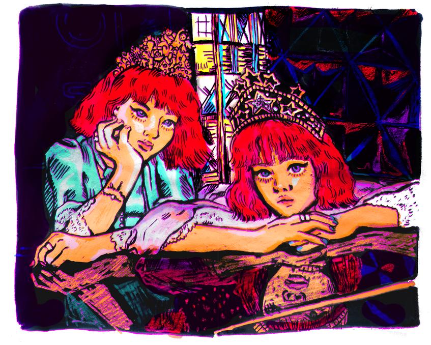 Models Aya & Ami