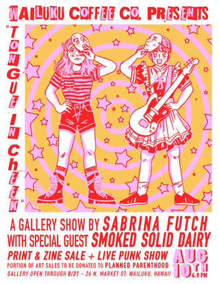 """Tongue in Cheek"" Solo Gallery Show"