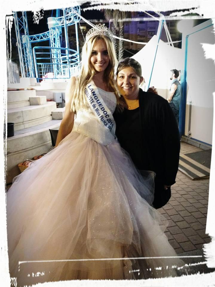 Avec Miss Languedoc 2015