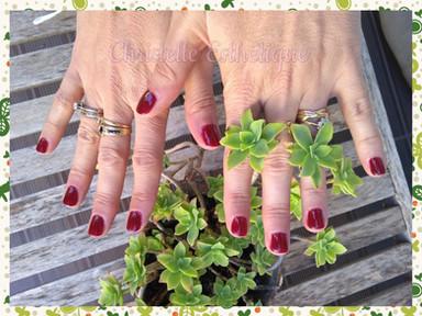 Vernis semi permanent mains