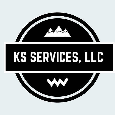 WEBSITE KS Services, LLC logo B&W FINAL-